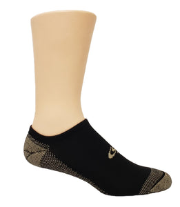 Copper Sole Cross Training CS100 No Show Sock