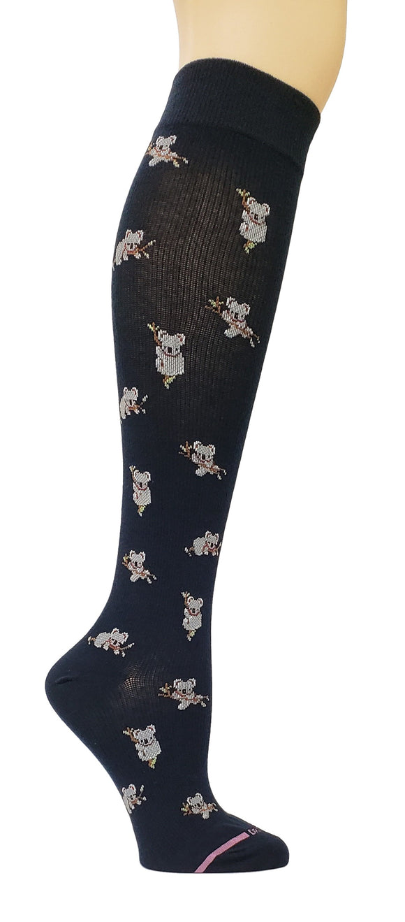 Dr. Motion Compression Socks-Koala