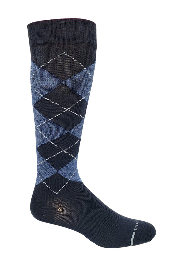 Dr. Motion Men's Compression Argyle