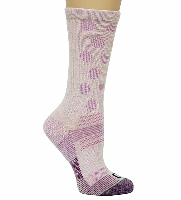 Women's Winter*Nit Dot Pattern Wool Sock