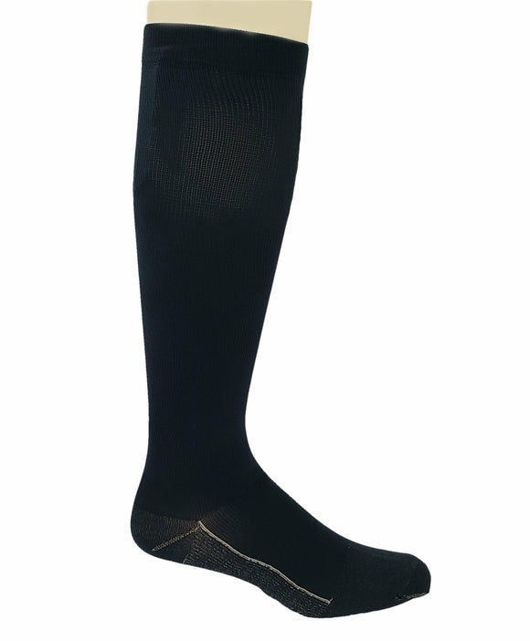 Copper Sole Aetrex Support Compression Sock CS4500XL