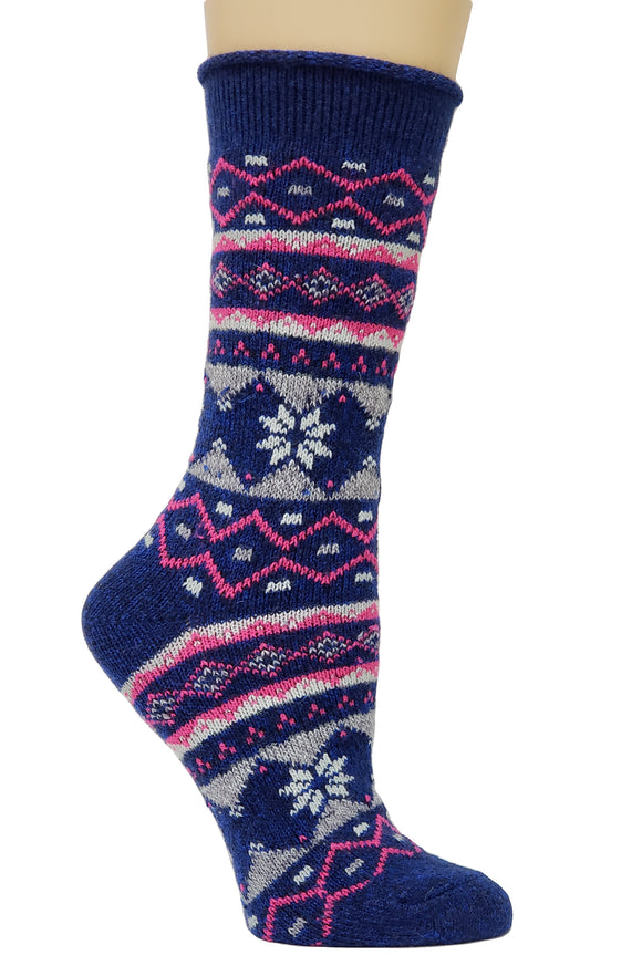 Women's Soft Comfort Top Wool Blend Socks