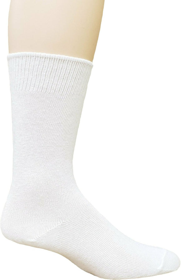 Dr. Allay Men's Diabetic Flat Knit Crew Sock