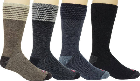 Winter*Nit Men's Wool Blend Casual Crew Sock