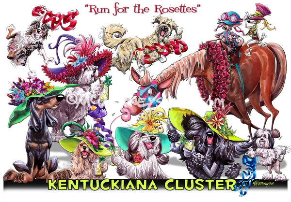 kentuckiana cluster of dog shows 2020 run for the rosettes