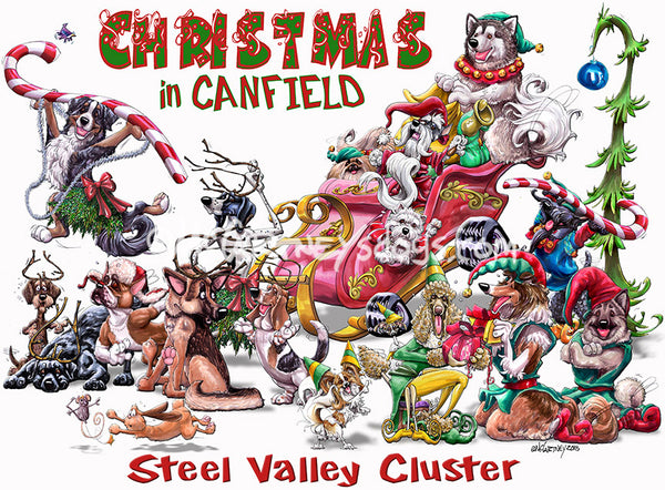 canfield steel valley cluster dog show