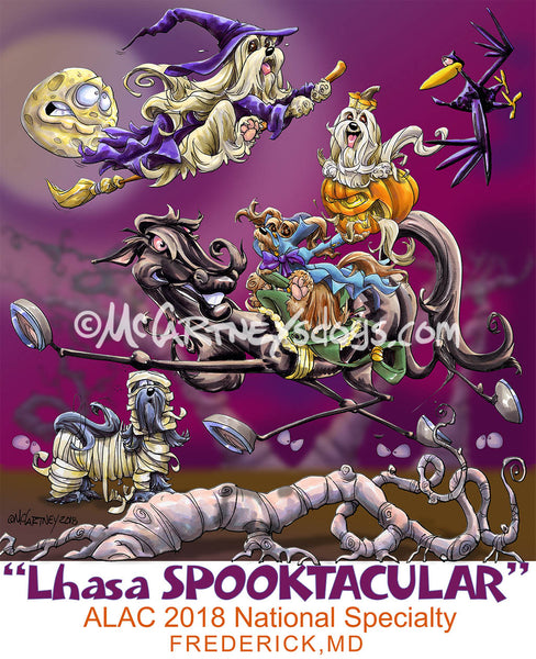 lhasa apso national specialty spooktacular