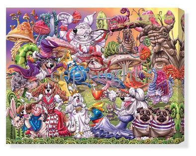 Alice In Wonderland - Calendar Canvas