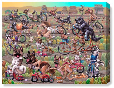 Bike Race - Calendar Canvas