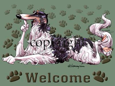Borzoi - Welcome - Mat