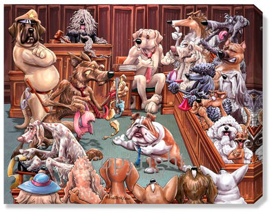 Court Room - Calendar Canvas