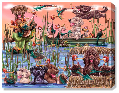 Duck Blind - Calendar Canvas
