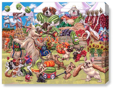 Farmers Market - Calendar Canvas