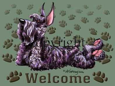 Giant Schnauzer - Welcome - Mat
