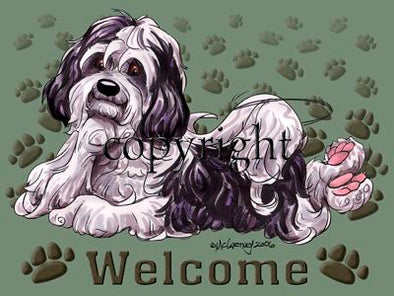 Havanese - Welcome - Mat