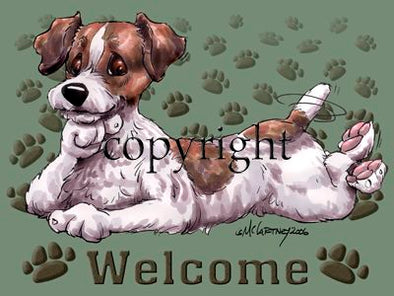 Jack Russell Terrier - Welcome - Mat