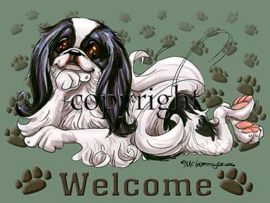Japanese Chin - Welcome - Mat