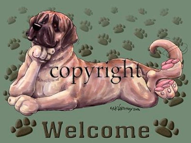 Mastiff - Welcome - Mat