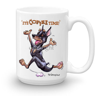 Miniature Pinscher - Coffee Time - Mug