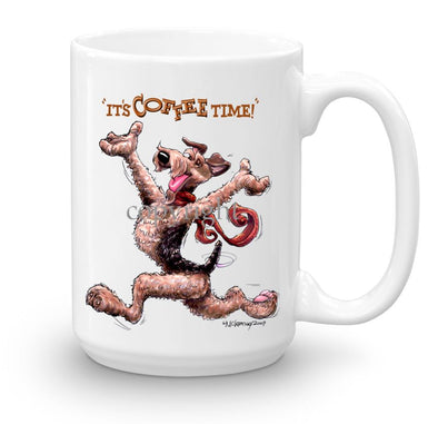 Airedale Terrier - Coffee Time - Mug