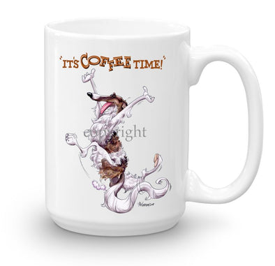 Borzoi - Coffee Time - Mug