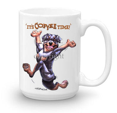 Rottweiler - Coffee Time - Mug