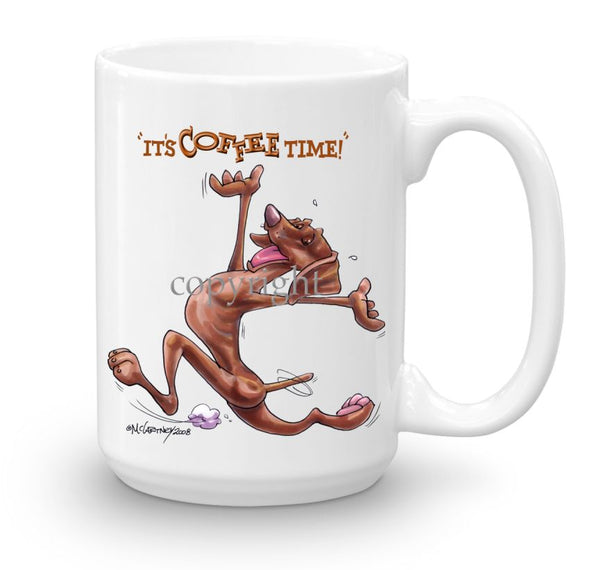Vizsla - Coffee Time - Mug