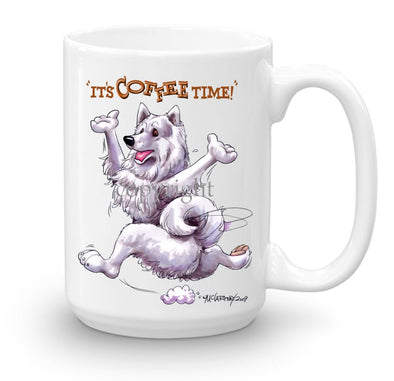 Samoyed - Coffee Time - Mug