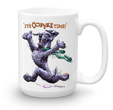 Kerry Blue Terrier - Coffee Time - Mug