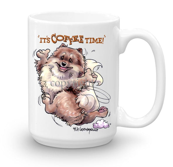Pomeranian - Coffee Time - Mug