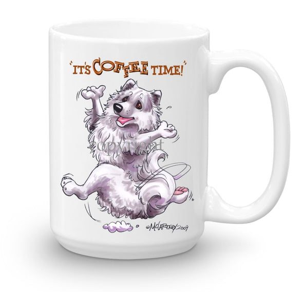 American Eskimo Dog - Coffee Time - Mug