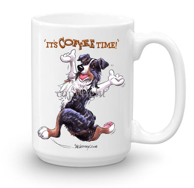 Australian Shepherd  Black Tri - Coffee Time - Mug