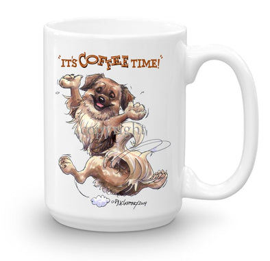 Tibetan Spaniel - Coffee Time - Mug