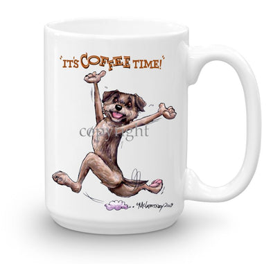 Border Terrier - Coffee Time - Mug