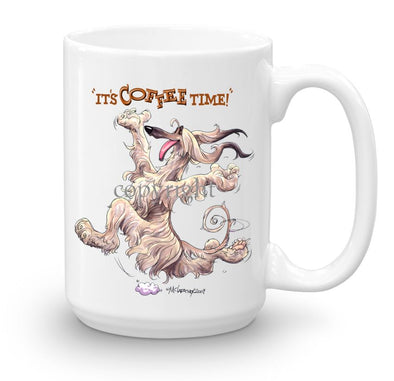 Afghan Hound - Coffee Time - Mug