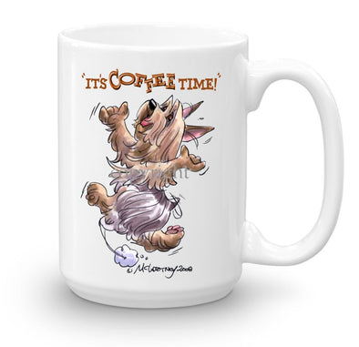 Silky Terrier - Coffee Time - Mug