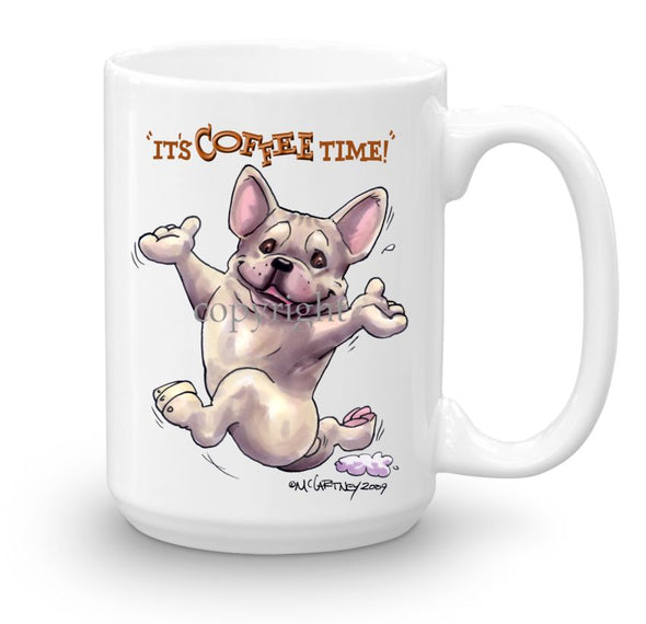 French Bulldog - Coffee Time - Mug