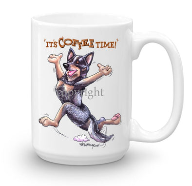 Australian Cattle Dog - Coffee Time - Mug