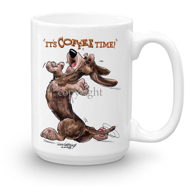 Dachshund  Wirehaired - Coffee Time - Mug