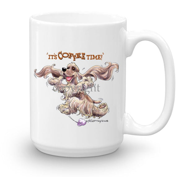 Cocker Spaniel - Coffee Time - Mug