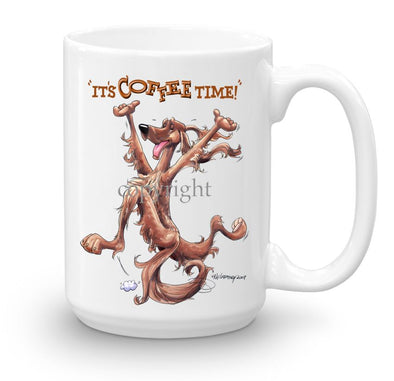 Irish Setter - Coffee Time - Mug
