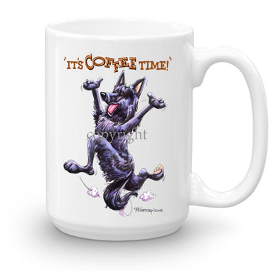 Belgian Sheepdog - Coffee Time - Mug