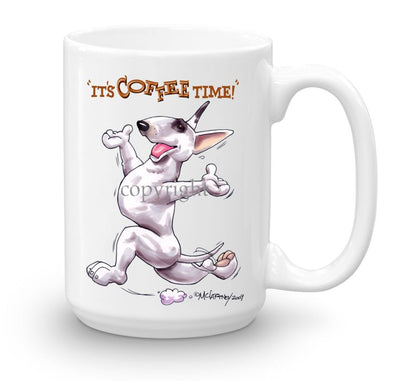 Bull Terrier - Coffee Time - Mug