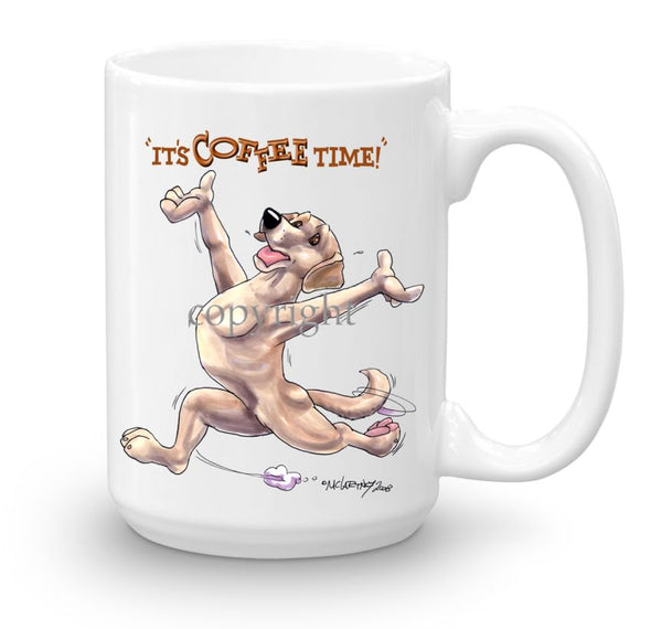 Labrador Retriever  Yellow - Coffee Time - Mug