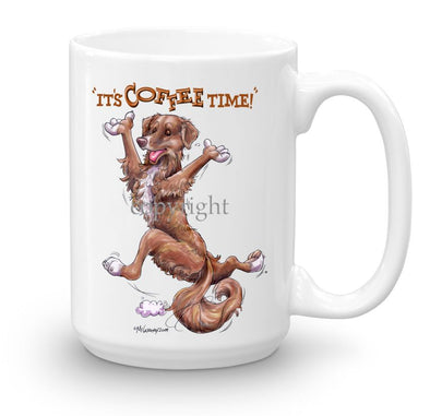 Nova Scotia Duck Tolling Retriever - Coffee Time - Mug