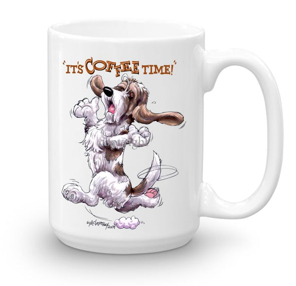 Petit Basset Griffon Vendeen - Coffee Time - Mug