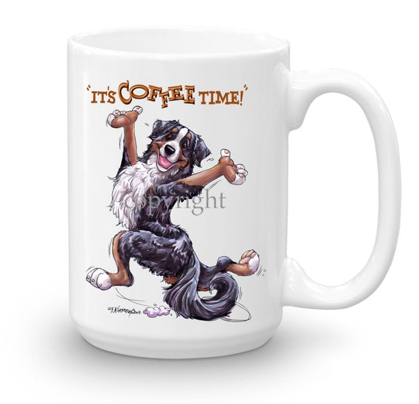 Bernese Mountain Dog - Coffee Time - Mug