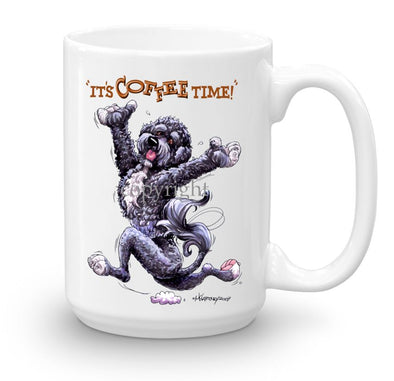 Portuguese Water Dog - Coffee Time - Mug
