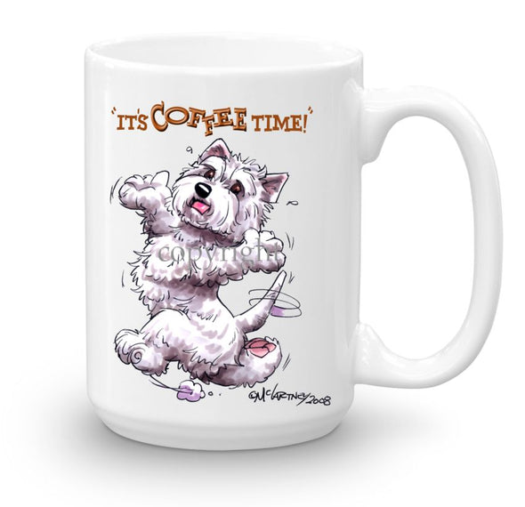 West Highland Terrier - Coffee Time - Mug