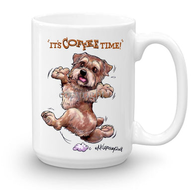 Norfolk Terrier - Coffee Time - Mug